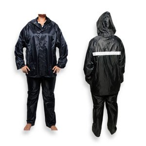 Reflective Rubberized Rain Suit